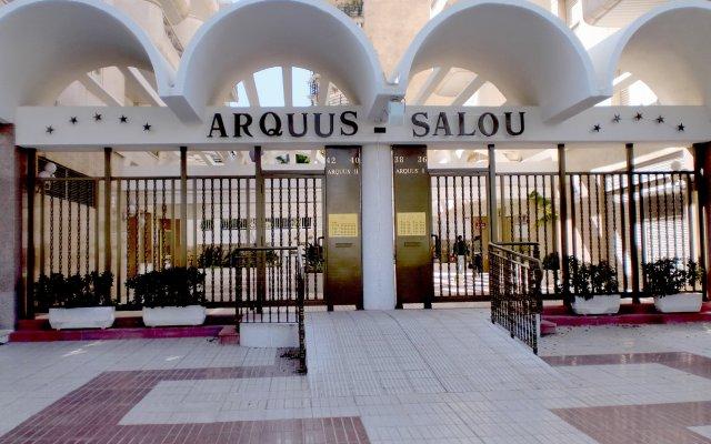 Отель Arquus Park вид на фасад