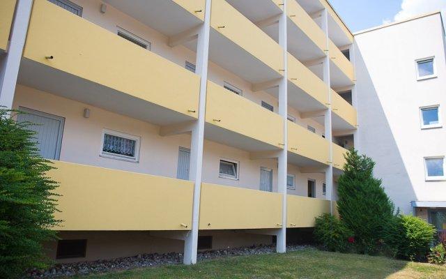 Отель Messe Apartment Jessy Германия, Нюрнберг - отзывы, цены и фото номеров - забронировать отель Messe Apartment Jessy онлайн вид на фасад