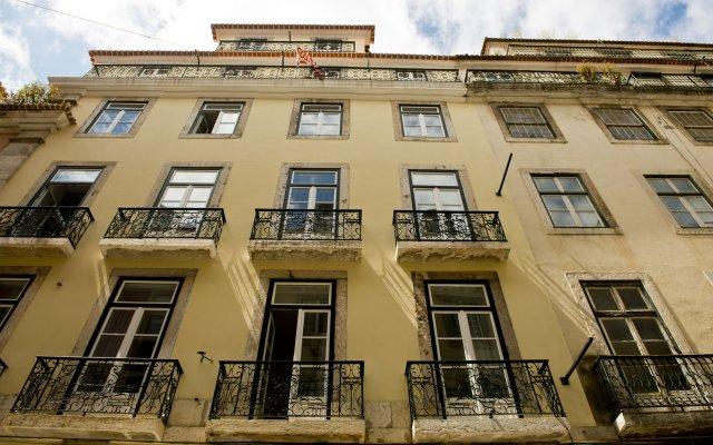 Отель Páteo Saudade Lofts вид на фасад