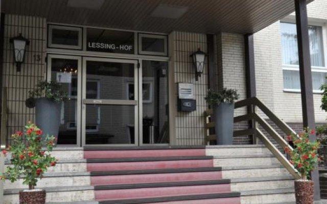 Отель Lessing-Hof Германия, Брауншвейг - отзывы, цены и фото номеров - забронировать отель Lessing-Hof онлайн вид на фасад