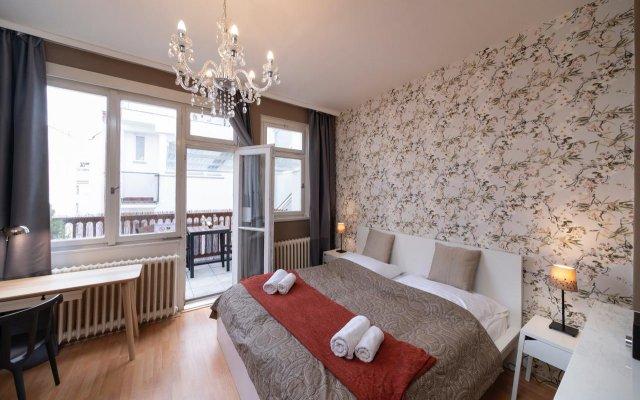 Апартаменты New Town Apple Apartments Прага комната для гостей