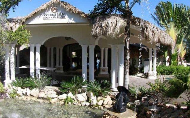 Отель Cofresi Palm Beach & Spa Resort All Inclusive вид на фасад