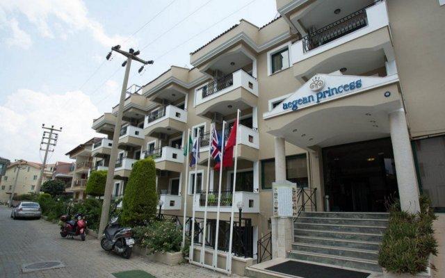 Aegean Princess Apartments And Studio Турция, Мармарис - 1 отзыв об отеле, цены и фото номеров - забронировать отель Aegean Princess Apartments And Studio онлайн вид на фасад