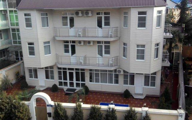 Гостиница Веста вид на фасад