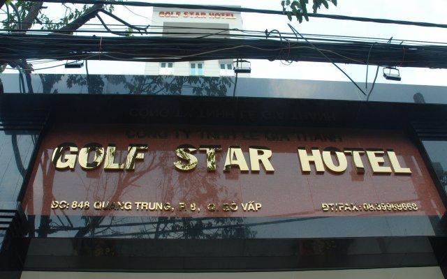 Golf Star Hotel вид на фасад