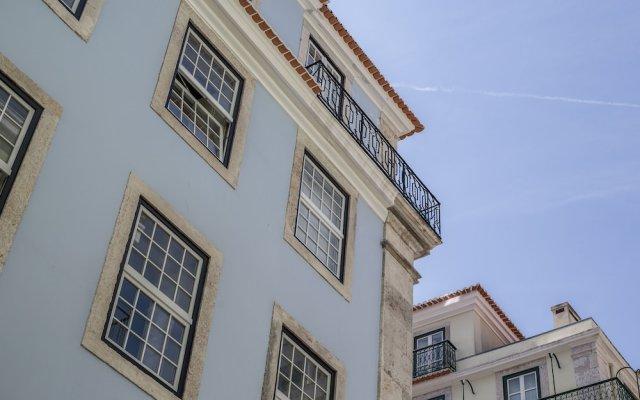 Отель Dare Lisbon House Португалия, Лиссабон - отзывы, цены и фото номеров - забронировать отель Dare Lisbon House онлайн вид на фасад
