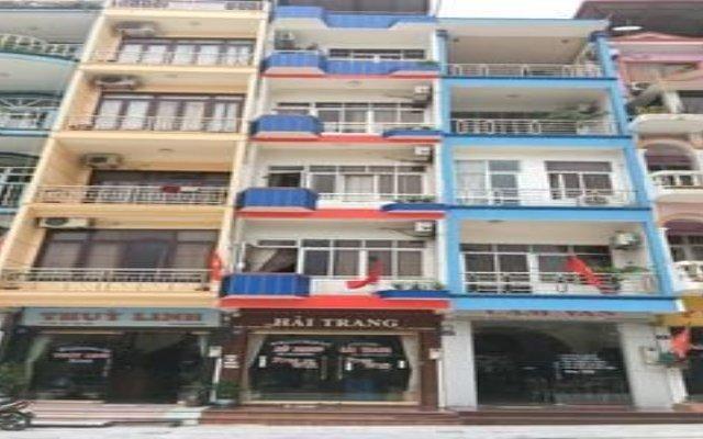 Hai Trang Hotel Халонг вид на фасад