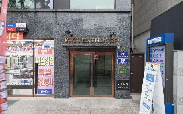 Отель K-GUESTHOUSE Dongdaemun 4 вид на фасад