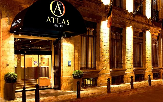 Atlas Hotel Brussels вид на фасад