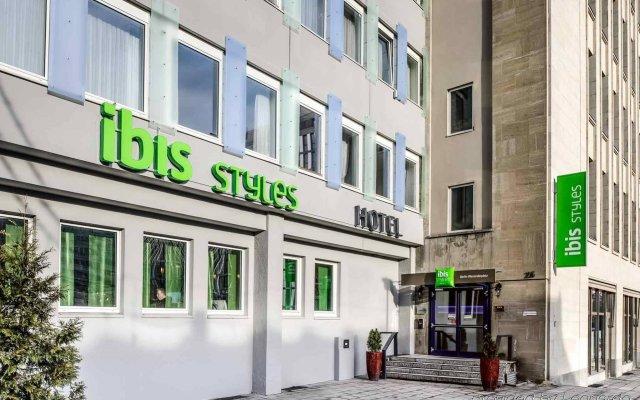 Отель ibis Styles Berlin Alexanderplatz Германия, Берлин - 4 отзыва об отеле, цены и фото номеров - забронировать отель ibis Styles Berlin Alexanderplatz онлайн вид на фасад