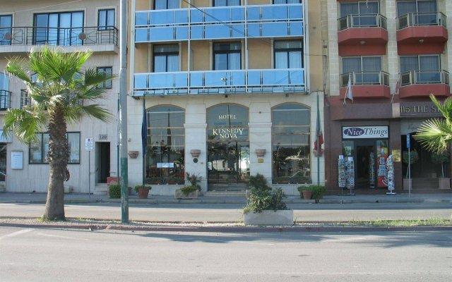 Отель Kennedy Nova Гзира вид на фасад