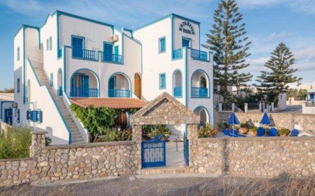 Отель Villa Margarita Греция, Остров Санторини - отзывы, цены и фото номеров - забронировать отель Villa Margarita онлайн вид на фасад