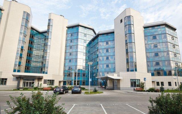 Гостиница SkyPoint Шереметьево вид на фасад
