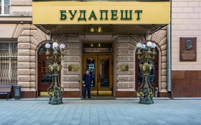Гостиница Будапешт в Москве - забронировать гостиницу Будапешт, цены и фото номеров Москва вид на фасад