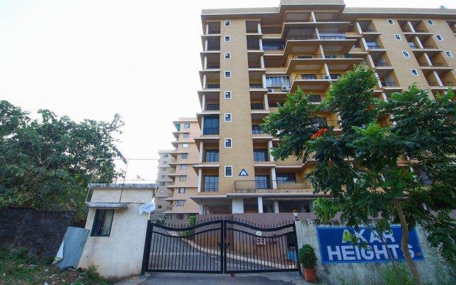 Отель OYO 24509 Home Elegant 2BHK Dabolim Индия, Южный Гоа - отзывы, цены и фото номеров - забронировать отель OYO 24509 Home Elegant 2BHK Dabolim онлайн вид на фасад
