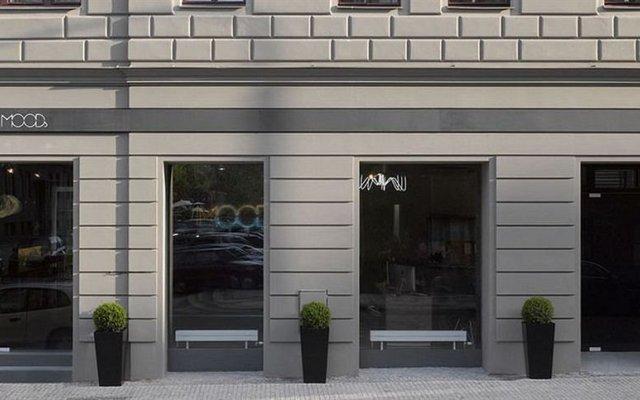 Отель Moods Boutique Прага вид на фасад