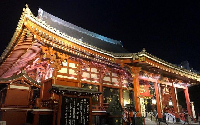 Hotel Gracery Asakusa вид на фасад