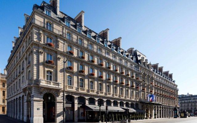 Отель Hilton Paris Opera Париж вид на фасад