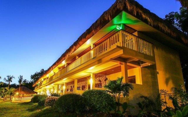 Отель Bohol Beach Club Resort вид на фасад