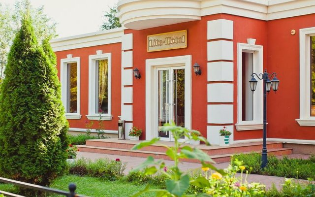 Гостиница Лайт Волгоград вид на фасад