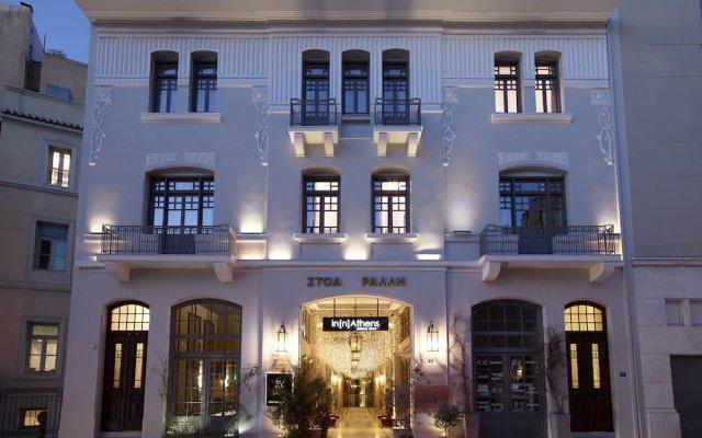 Отель innAthens вид на фасад