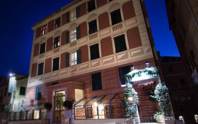 Hotel La Camogliese Камогли вид на фасад