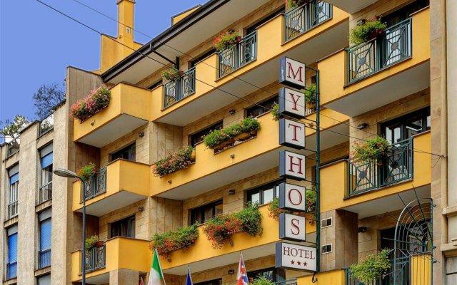 Hotel Mythos вид на фасад