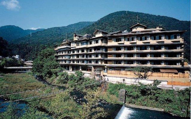 Отель Hakkei Мисаса вид на фасад