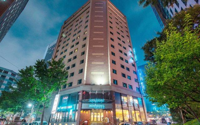New Seoul Hotel вид на фасад