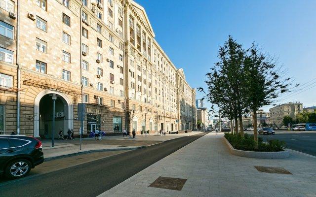 Апартаменты Apartment Nice Novinskiy Bulvar вид на фасад