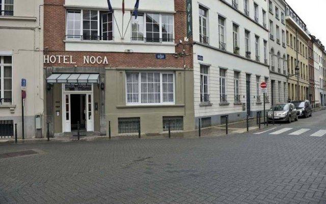 Отель Noga Бельгия, Брюссель - отзывы, цены и фото номеров - забронировать отель Noga онлайн вид на фасад