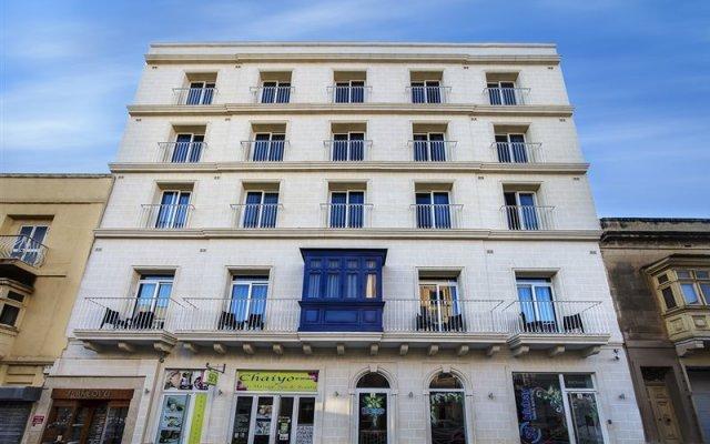 Отель Bayview Hotel by ST Hotels Мальта, Гзира - 4 отзыва об отеле, цены и фото номеров - забронировать отель Bayview Hotel by ST Hotels онлайн вид на фасад