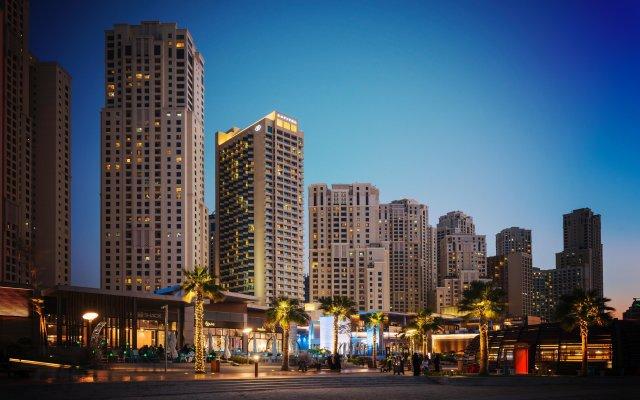 Отель Sofitel Dubai Jumeirah Beach вид на фасад