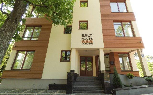 Отель BaltHouse вид на фасад