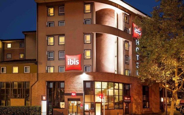 Отель ibis Toulouse Pont Jumeaux Франция, Тулуза - отзывы, цены и фото номеров - забронировать отель ibis Toulouse Pont Jumeaux онлайн вид на фасад