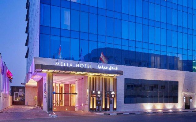 Отель Melia Dubai вид на фасад