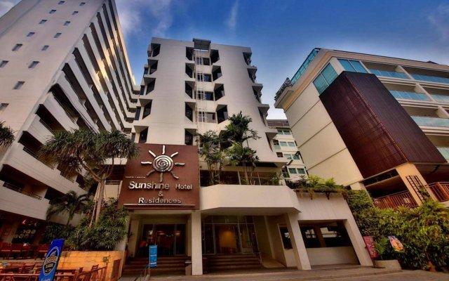 Отель Sunshine Hotel And Residences Таиланд, Паттайя - 7 отзывов об отеле, цены и фото номеров - забронировать отель Sunshine Hotel And Residences онлайн вид на фасад