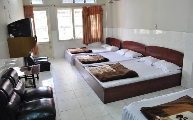 Thien Phuc Hotel Далат комната для гостей