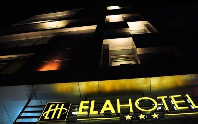 Ela Hotel вид на фасад