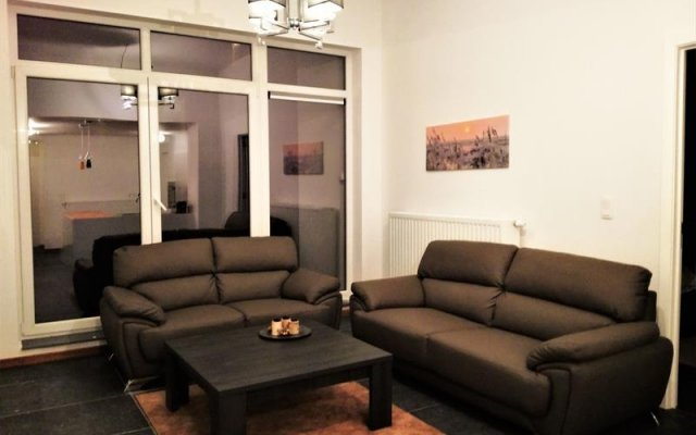 Отель Panorama Flats Brussels City Center Брюссель комната для гостей