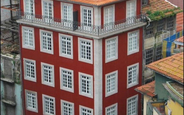 Отель My Ribeira Guest House вид на фасад
