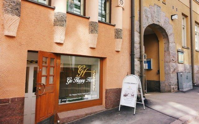 Отель Go Happy Home Apartment Runeberginkatu 6 Финляндия, Хельсинки - отзывы, цены и фото номеров - забронировать отель Go Happy Home Apartment Runeberginkatu 6 онлайн вид на фасад