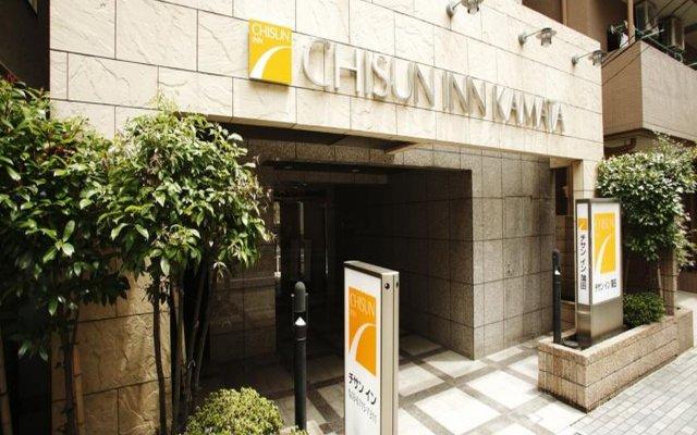 Отель Chisun Inn Kamata Япония, Токио - отзывы, цены и фото номеров - забронировать отель Chisun Inn Kamata онлайн вид на фасад