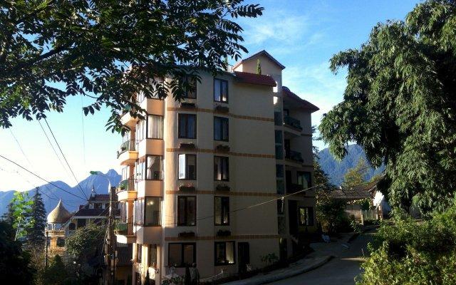 Sapa House Hotel вид на фасад