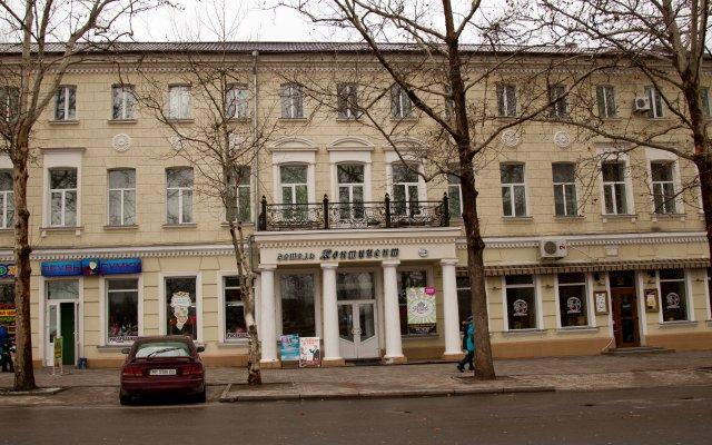 Гостиница Континент вид на фасад