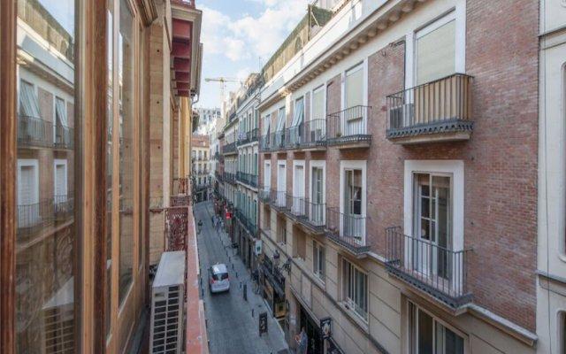 Отель Apartamento Plaza Santa Ana II Мадрид комната для гостей
