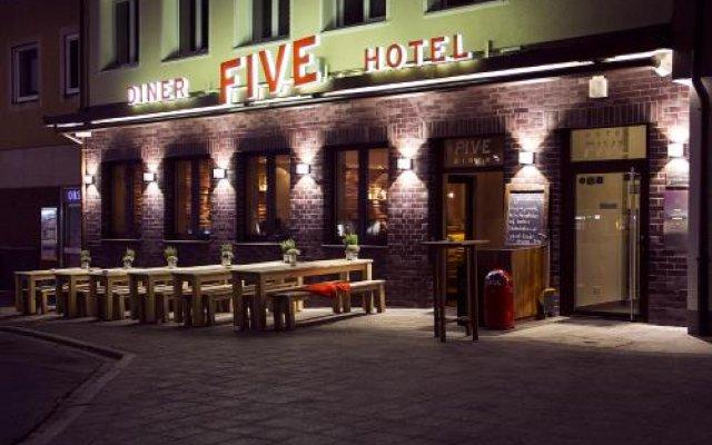 Отель FIVE Германия, Нюрнберг - отзывы, цены и фото номеров - забронировать отель FIVE онлайн вид на фасад
