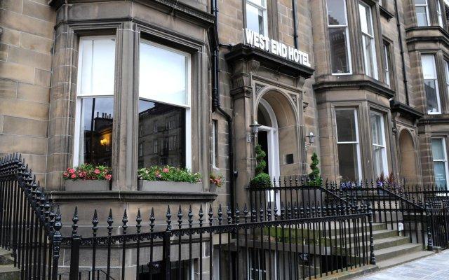 Отель The West End Hotel Великобритания, Эдинбург - отзывы, цены и фото номеров - забронировать отель The West End Hotel онлайн вид на фасад