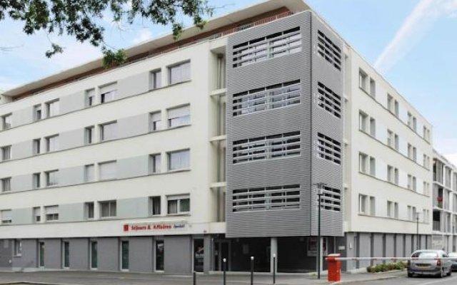 Отель Séjours & Affaires Rennes Villa Camilla вид на фасад
