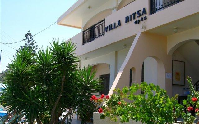 Отель Villa Ritsa & Dimitris Studios вид на фасад